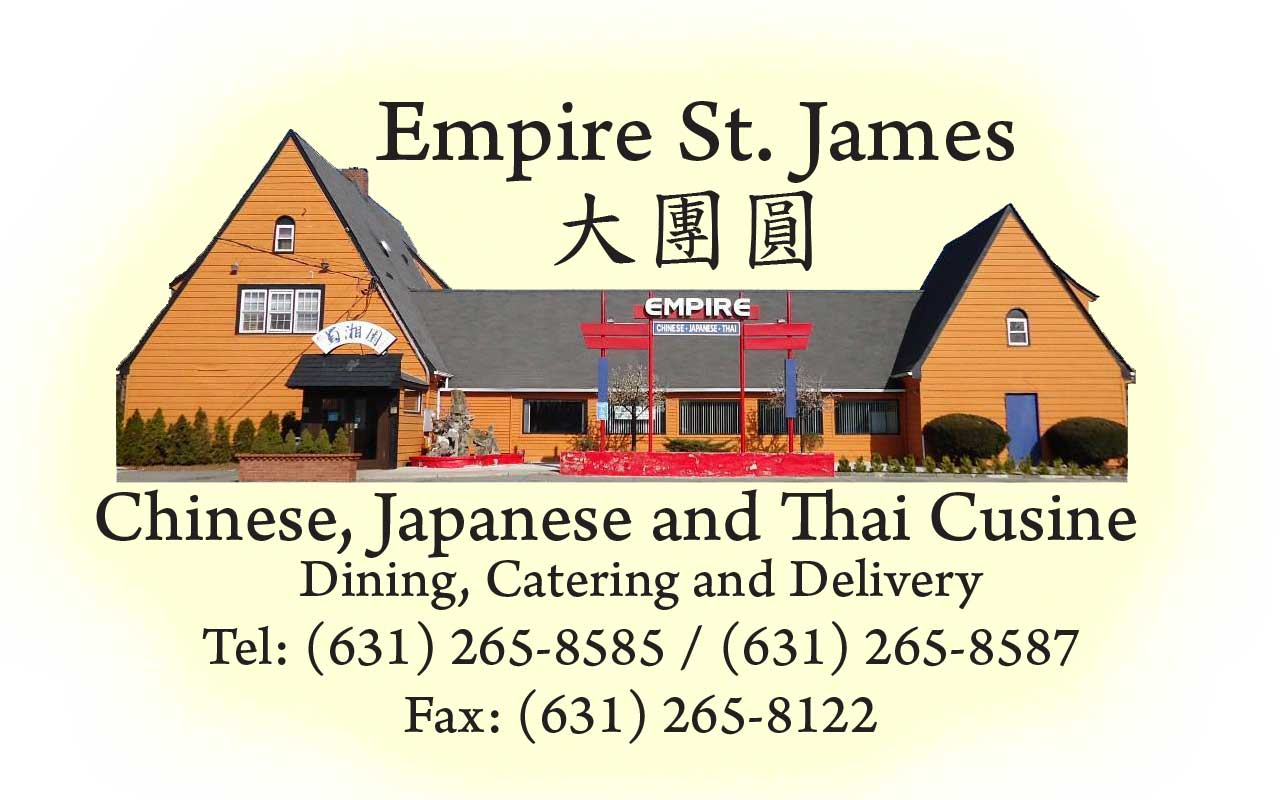 Empire St. James Restaurant-NY (631) 265-8585